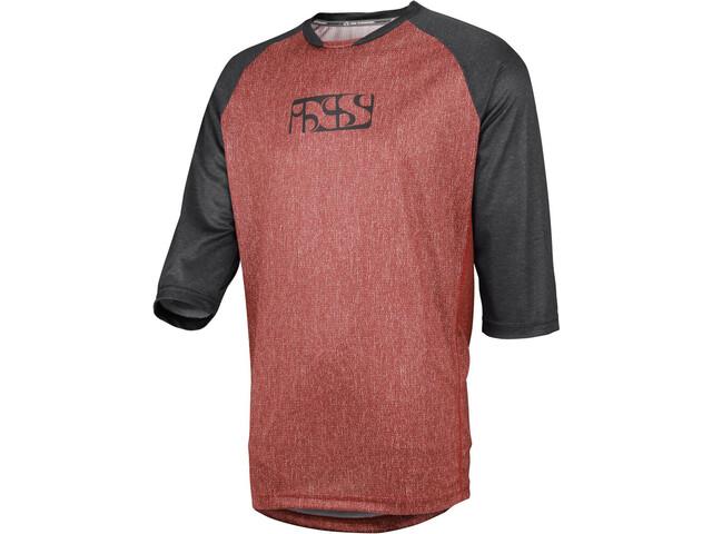 IXS Vibe 8.2 Bike Jersey Shortsleeve Men red/black